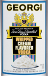 Georgi Vodka Whipped Cream